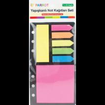 Globox Yapışkanlı Not Kağıdı Seti