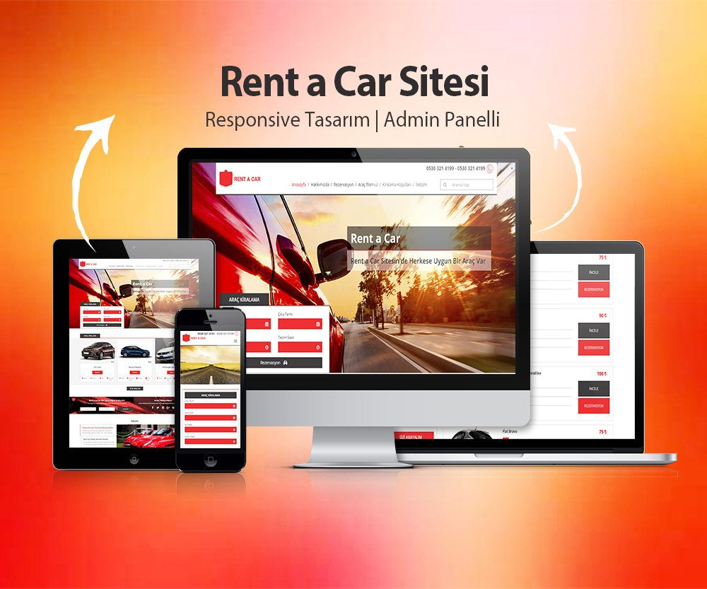 Rent a Car Sitesi V3